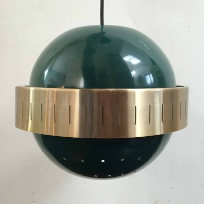 Space Age hanging lamp from the sixties by unknown designer for Dijkstra Lampen