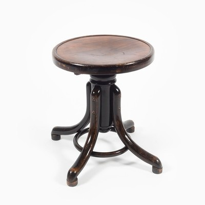 Piano stool from the forties by unknown designer for Thonet
