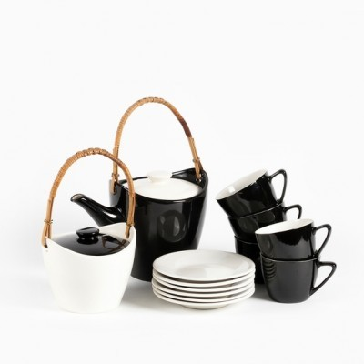 Tea Set from the sixties by unknown designer for Keramo