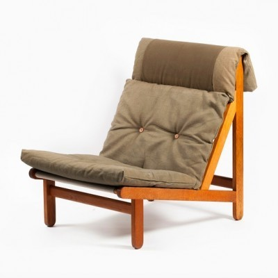 Rag Lounge Chair by Bernt Petersen for Unknown Manufacturer