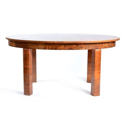 Dining table from the thirties by unknown designer for unknown producer