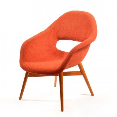 2 x arm chair by František Jirák for Ton, 1960s