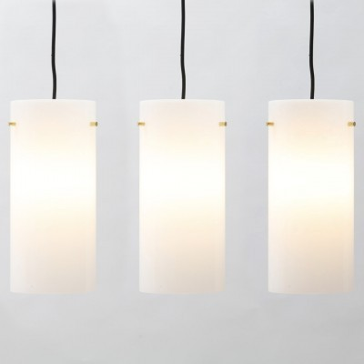 16 hanging lamps from the fifties by unknown designer for Fog & Mørup