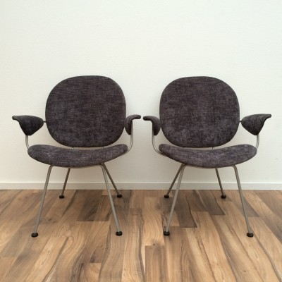 2 x 302 (Triennale) lounge chair by W. Gispen for Kembo, 1950s
