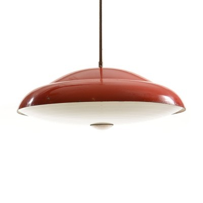 Hanging lamp from the sixties by unknown designer for Napako
