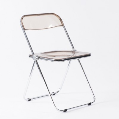 4 Plia dinner chairs from the sixties by Giancarlo Piretti for Castelli