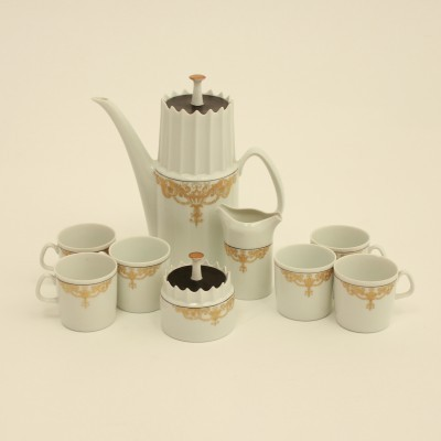 Aurelia Cofee Porcelain Set from the sixties by Jezek Jaroslav for unknown producer