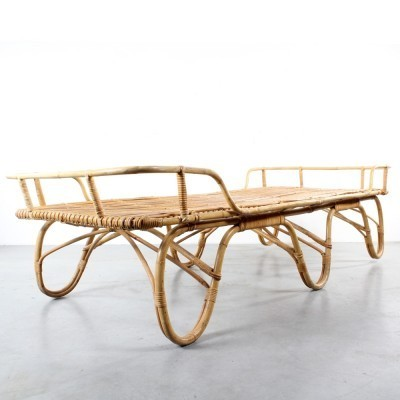 Daybed from the sixties by unknown designer for Rohé Noordwolde