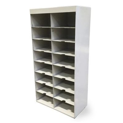 7 Mail Sorter wall units from the sixties by unknown designer for unknown producer
