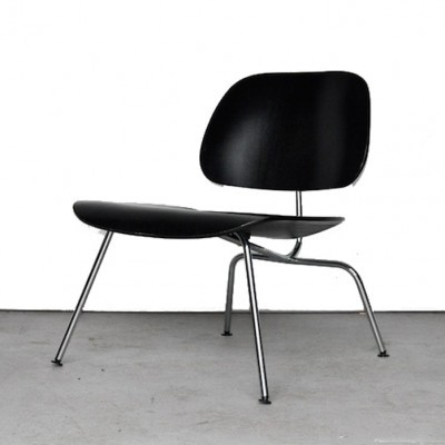 7 x LCM lounge chair by Charles & Ray Eames for Vitra, 1990s