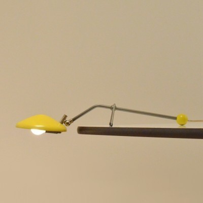 Piano Lamp Mod. 638/01 desk lamp from the fifties by J. Hoogervorst for Anvia Almelo
