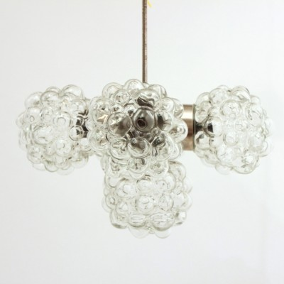 Bubble hanging lamp from the seventies by unknown designer for Kamenický Šenov