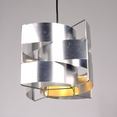 2 hanging lamps from the sixties by Max Sauze for Max Sauze Studio