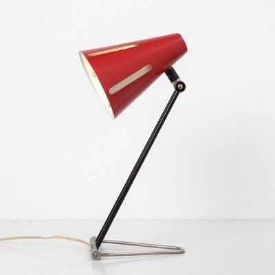 Sun Series desk lamp from the fifties by H. Busquet for Hala Zeist