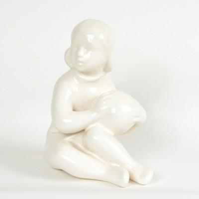 Porcelain Statue by Unknown Designer for Keramia