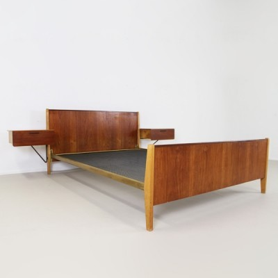 LB35 Bed by Cees Braakman for Pastoe, 1950s