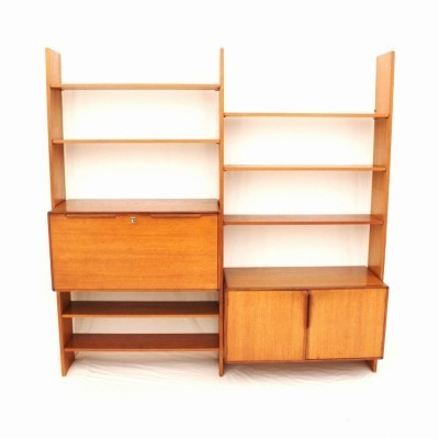 Tectonia wall unit by Jussi Peippo for Asko, 1960s