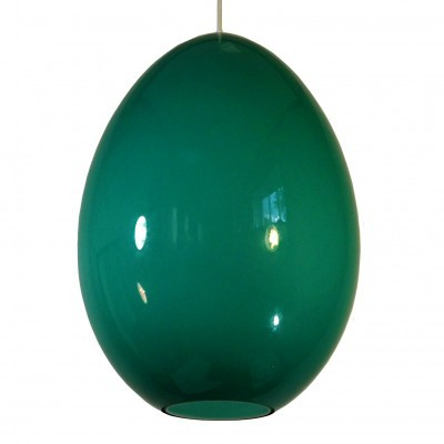 Egg hanging lamp from the fifties by Uno Kristiansson & Östen Kristiansson for Luxus Vittsjö