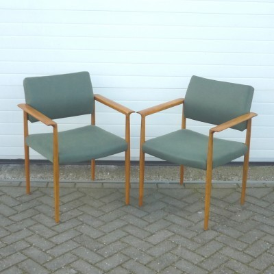 Pair of Lübke arm chairs, 1960s