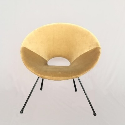 2 lounge chairs from the fifties by unknown designer for unknown producer