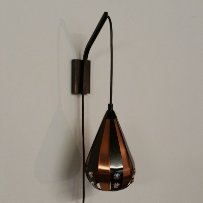 Wall lamp from the sixties by Werner Schou for Coronell Elektro Denmark