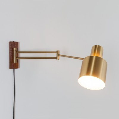 Horisont wall lamp from the sixties by Jo Hammerborg for Fog & Mørup