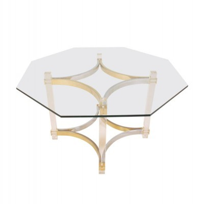 Dining table from the seventies by Alessandro Albrizzi for unknown producer