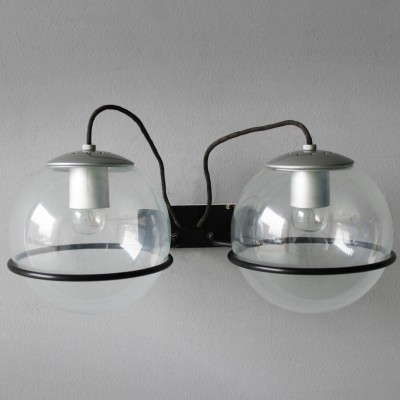 5 x Model 237/2 wall lamp by Gino Sarfatti for Arteluce, 1950s