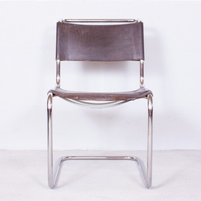 S33 dinner chair from the twenties by Mart Stam for Thonet