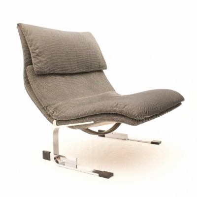 Onda lounge chair by Giovanni Offredi for Saporiti, 1960s