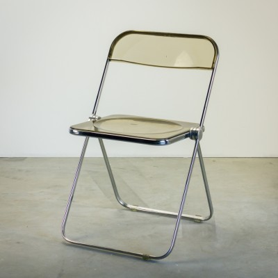 Plia Dinner Chair by Giancarlo Piretti for Castelli