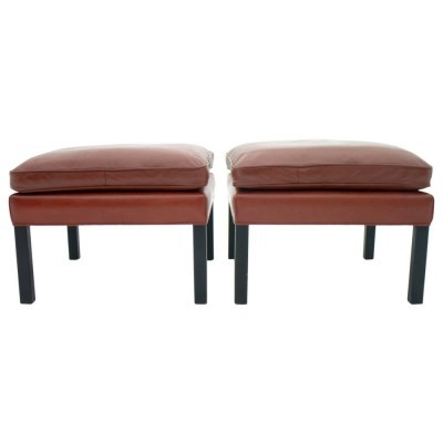 Pair of stools by Børge Mogensen for Fredericia, 1960s