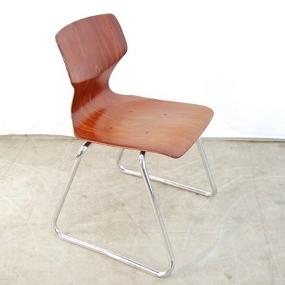 12 Thur Op Seat dinner chairs from the seventies by Elmar Flötotto for Pagholz Flötotto