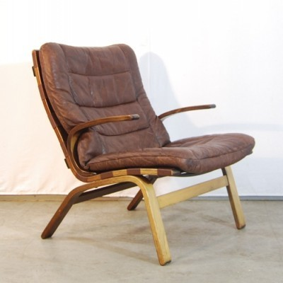 2 arm chairs from the seventies by unknown designer for Farstrup