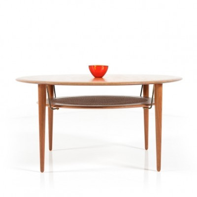 FD515 coffee table by Peter Hvidt & Orla Mølgaard Nielsen for France & Son, 1950s