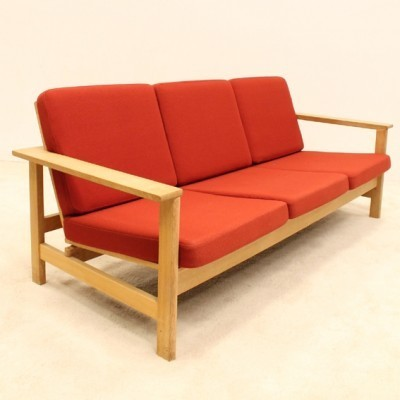 Model 2553 sofa from the sixties by Soren Holst for Fredericia Stolefabrik