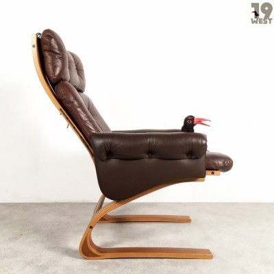 Kengu lounge chair by Rybo, 1970s