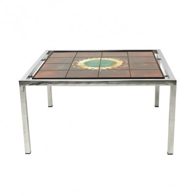 Coffee table from the sixties by J. Belarti for Belarti