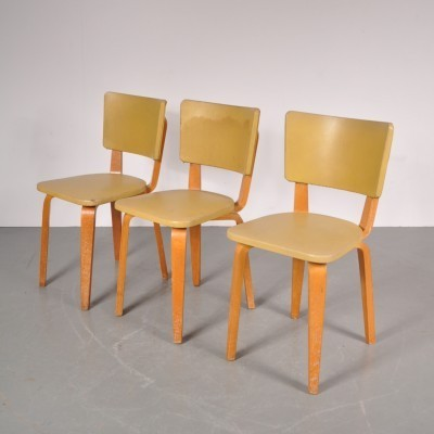 3 x dinner chair by Cor Alons for De Boer, 1950s