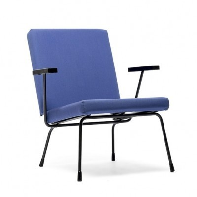 1407 Arm Chair by Dick Cordemeijer and Wim Rietveld for Gispen