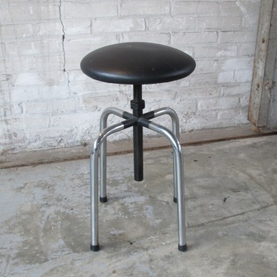 Stool from the sixties by unknown designer for unknown producer