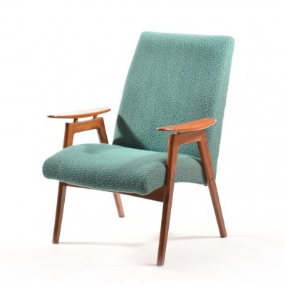 2 arm chairs from the sixties by unknown designer for Ton