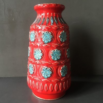 Vase from the sixties by unknown designer for Waechtersbach Germany