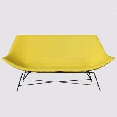 Sofa by Augusto Bozzi for Saporiti, 1950s