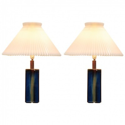 Set of 2 desk lamps from the seventies by unknown designer for Soholm