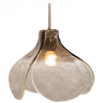 Tulip hanging lamp from the sixties by Carlo Nason for Mazzega