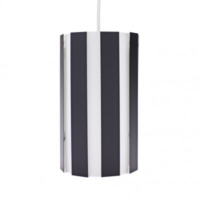 Lamelcylinder hanging lamp from the sixties by Børge Hvidkjær for Louis Poulsen