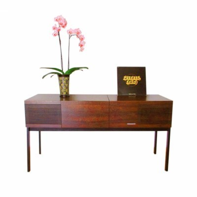 Hi-fi Sideboard from the sixties by unknown designer for Blaupunkt
