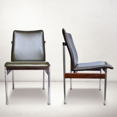Pair of Fristho dinner chairs, 1960s