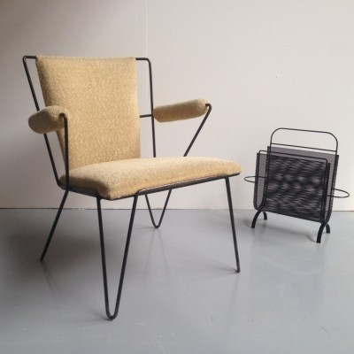 Arm chair by Arnold Bueno de Mesquita for Spurs Meubelen, 1950s